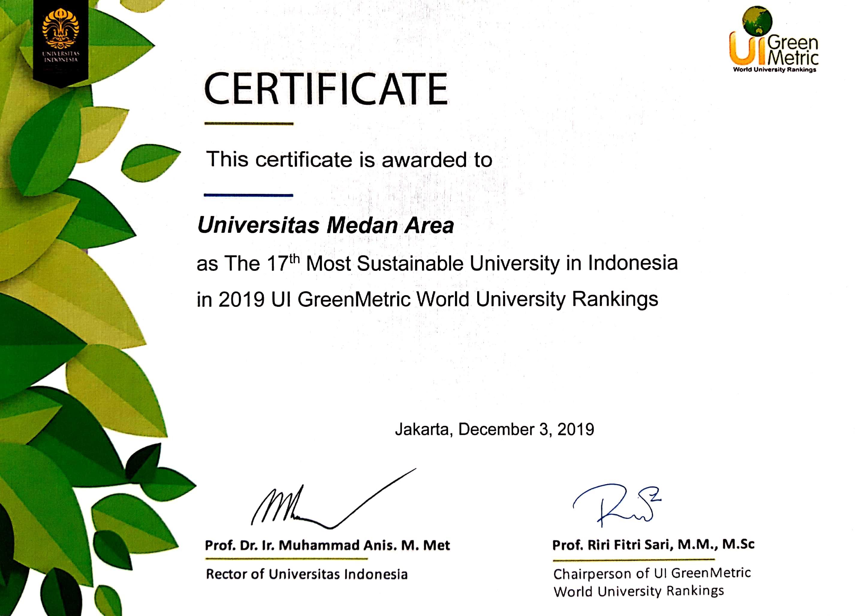 sertifikat-greenmetric-uma-peringkat-nasional1