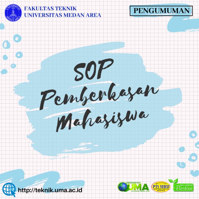 SOP pengajuan berkas mahasiswa Fakultas Teknik kampus terbaik