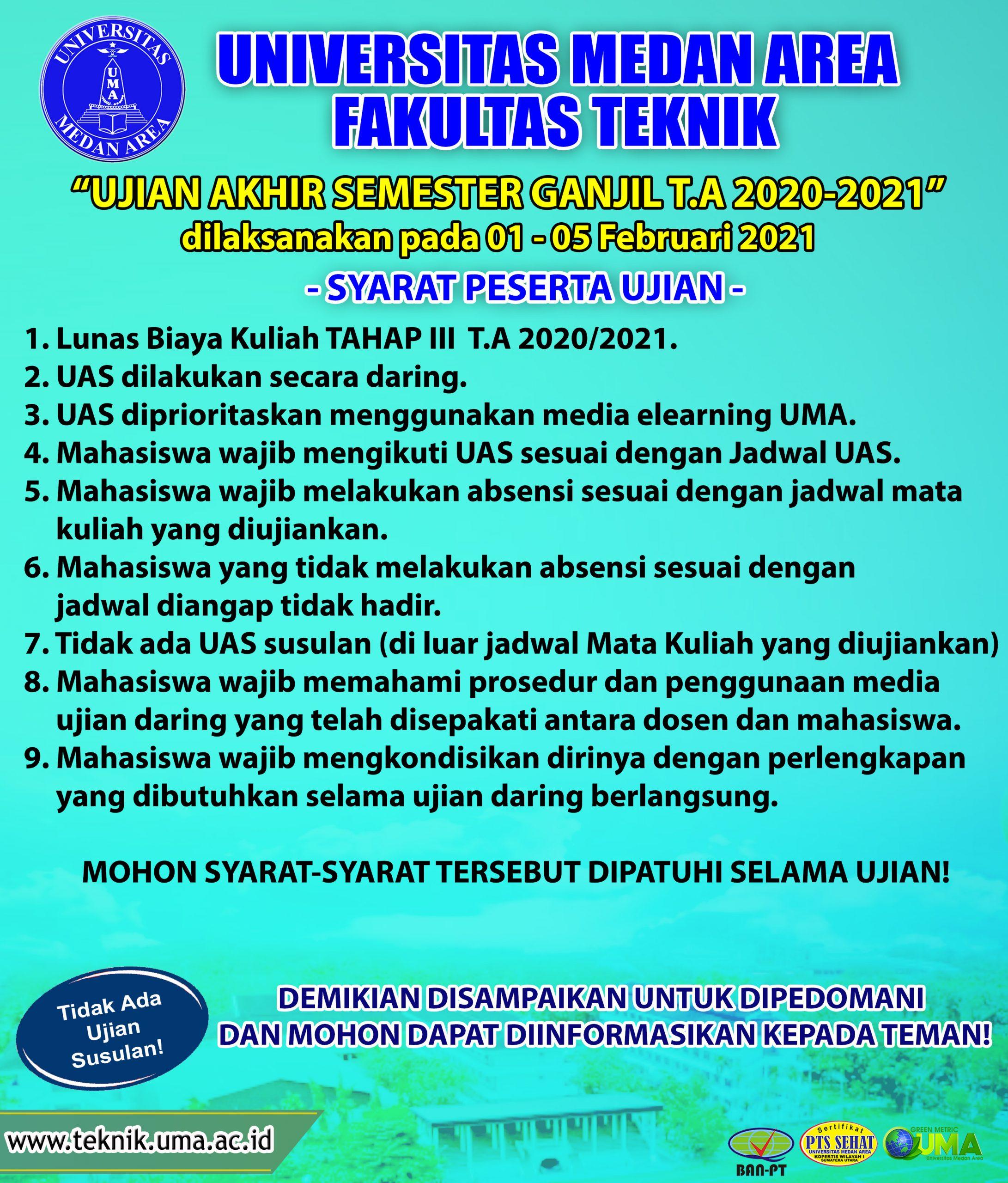 UAS Ganjil 2020/2021